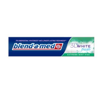 Dantų pasta Blend-a-med 3D Extreme Mint Kiss, 100 ml